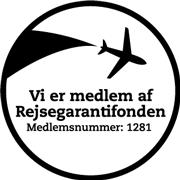 Vi er medlem af Rejsegarantifonden