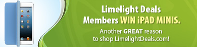 Limelight Deals members win great prizes like iPad Minis!