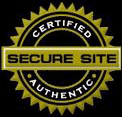 Certified. Secure Site. Authentic.